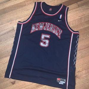New Jersey Nets NBA Jersey Jason Kidd XXL